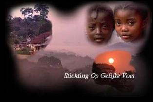 """""""Stichting Op Gelijke Voet""""is een particulier initiatief in Congo Brazzaville"""